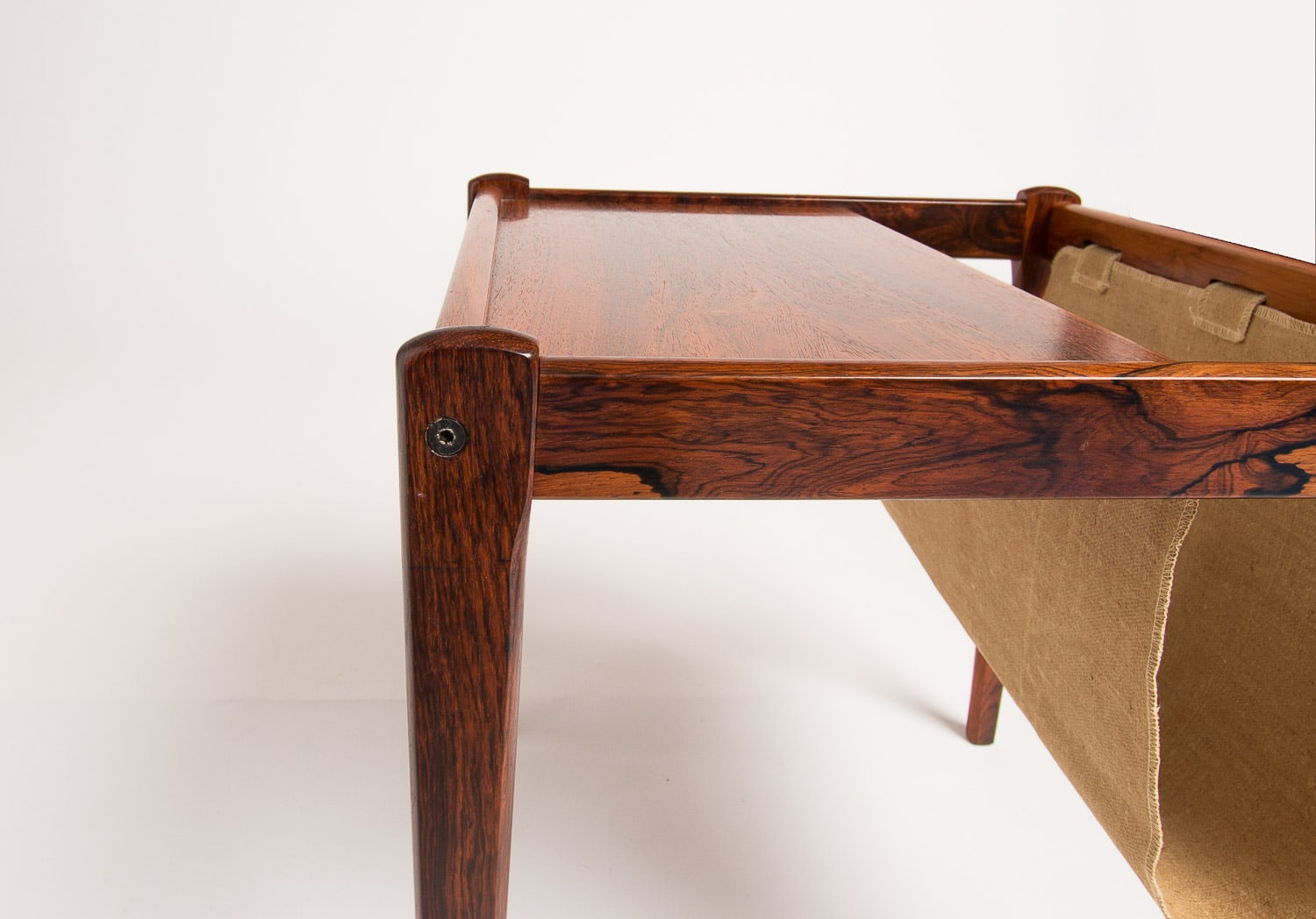 Mid century rosewood side table Danisk UK 1950's