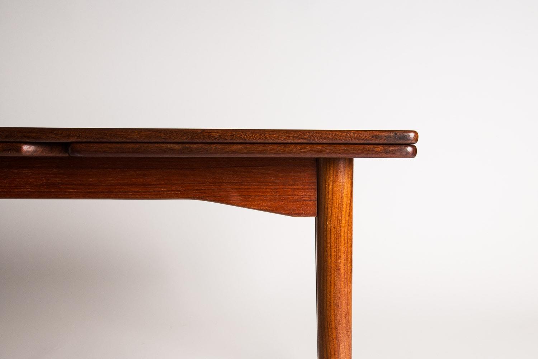 Teak dining table Danish mid century UK