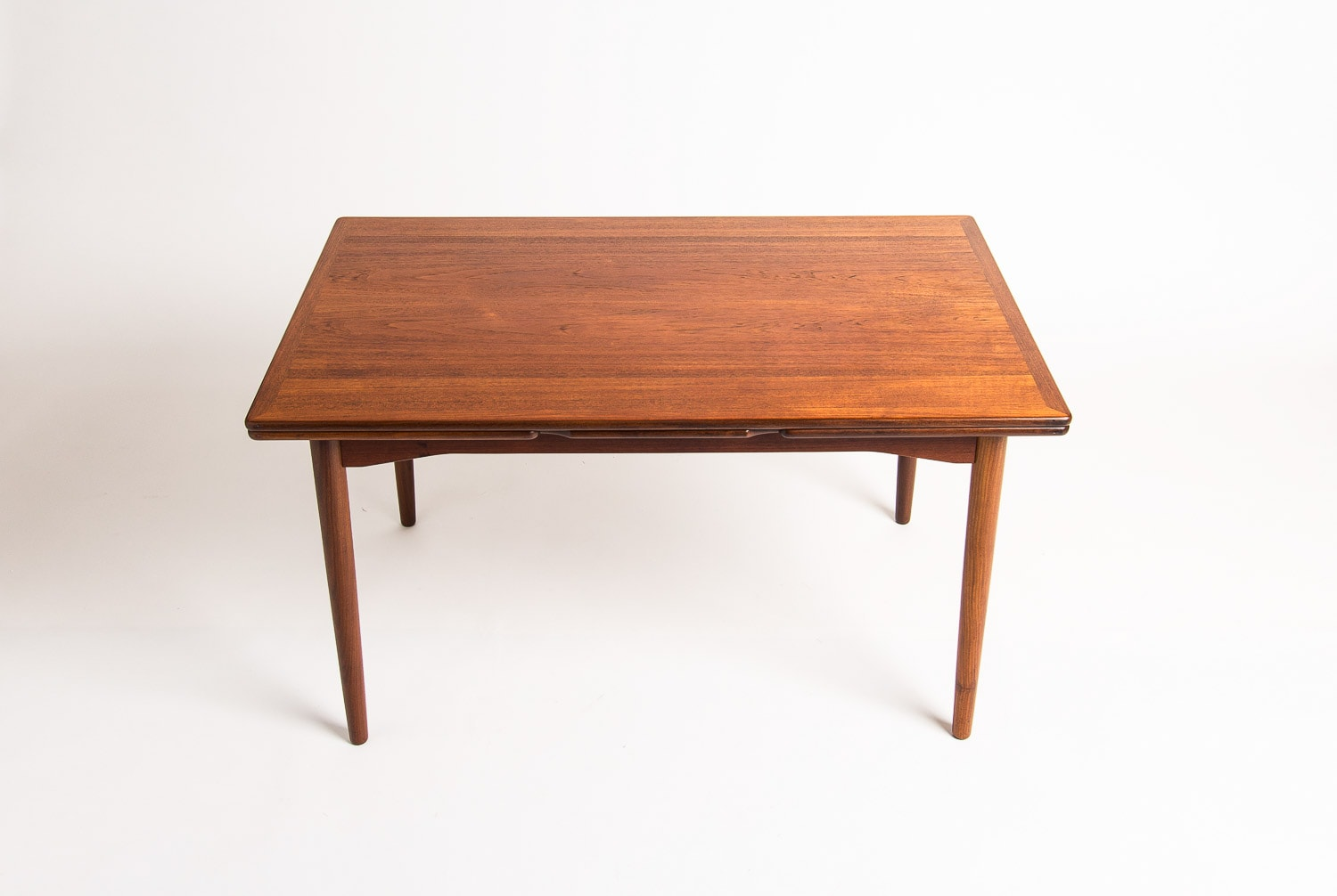 Danish furniture Teak dining table mid century London 1950's