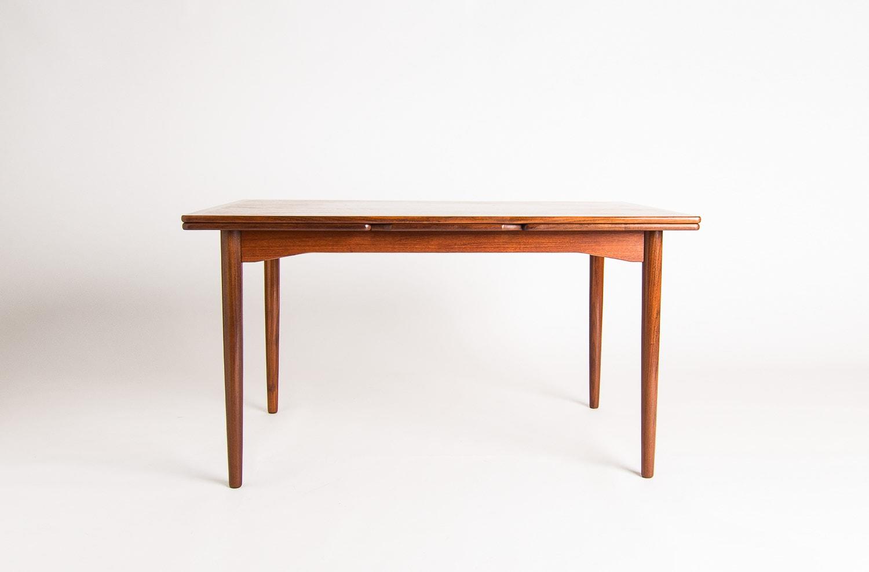 Danish furniture mid century dining table teak UK 1950's