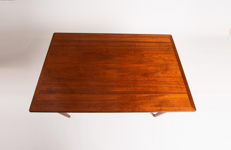Danish design teak dining table extender 1950's