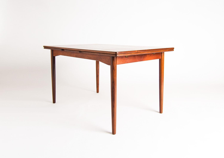 Vintage dining table Danish teak mid century 1950's